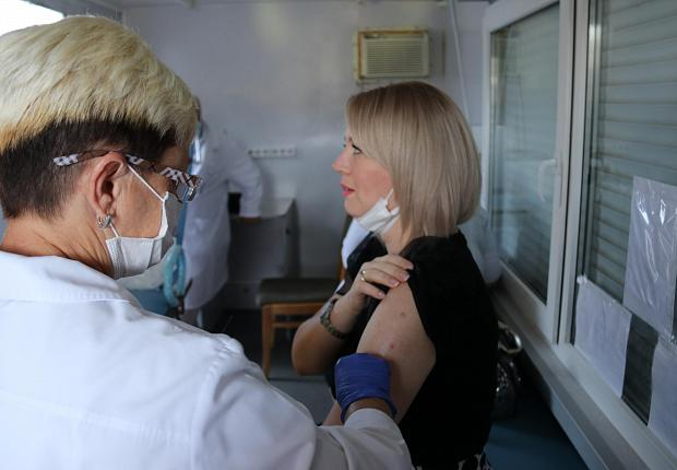 В Усть-Лабинском районе стартовала прививочная кампания