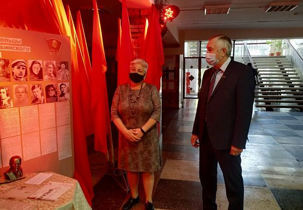 Глава Усть-Лабинского района посетил историческую выставку