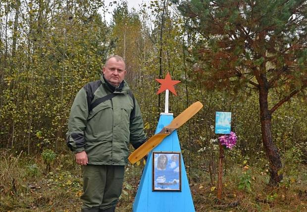 Устьлабинского лётчика увековечили на земле Белоруси