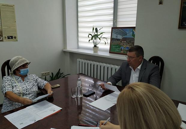 Состоялся приём граждан главой муниципалитета