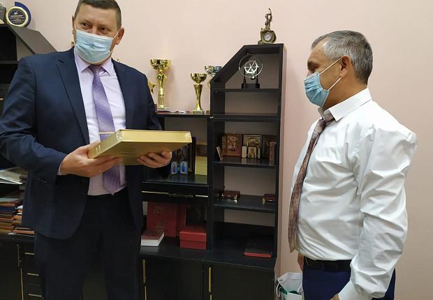 Устьлабинская администрация посетила социально-педагогический колледж