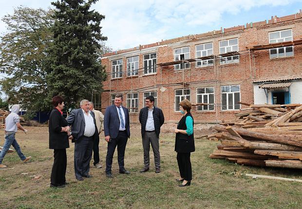 Сергей Запорожский посетил Вимовское сельское поселение