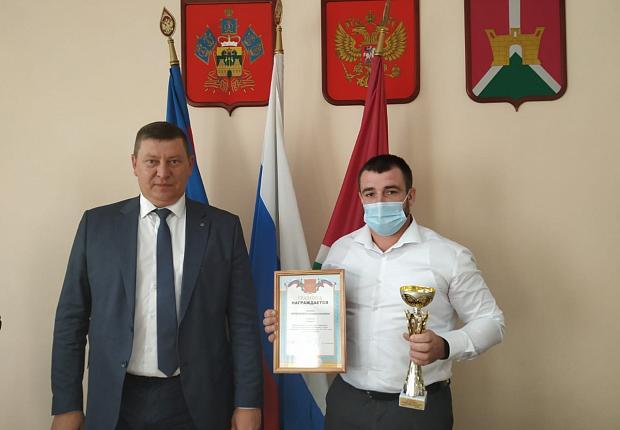 В администрации Усть-Лабинского района прошло рабочее совещание