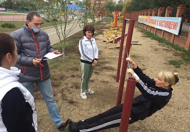 В Усть-Лабинском районе нормы ГТО сдали медики
